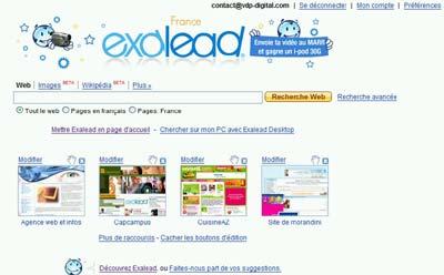 moteur de recherche exalead