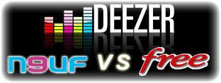 Free Deezer Neuf